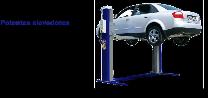 alquiler de elevadores para reparación de automóviles en Madrid